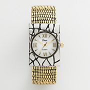 Vivani Two Tone Bangle Watch - Women