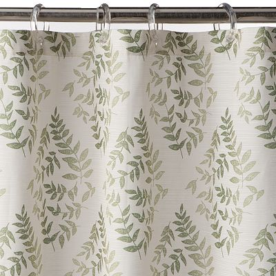 SONOMA life + style Greenville Leaf Shower Curtain