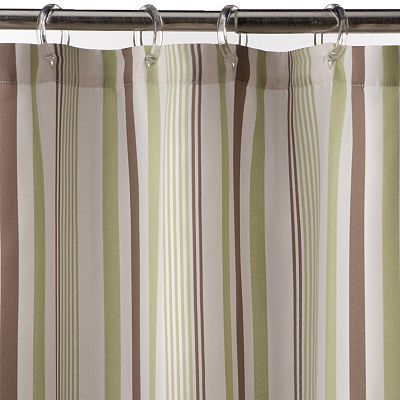 SONOMA life + style Greenville Striped Fabric Shower Curtain