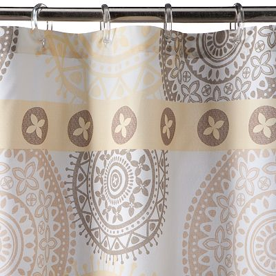SONOMA life + style Olympia Medallion Shower Curtain