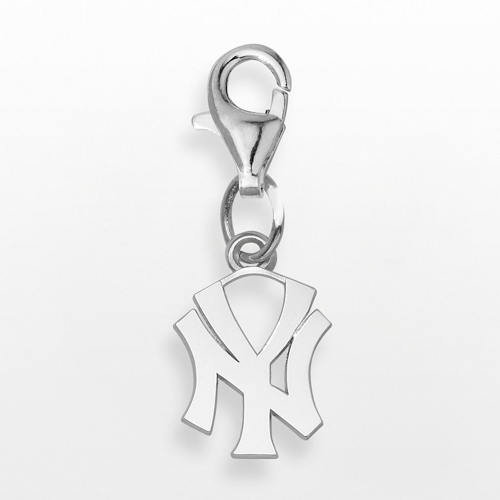 LogoArt New York Yankees Sterling Silver Logo Charm