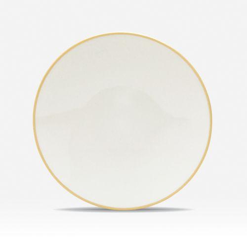 Noritake Colorwave Mustard Coupe 4-pc. Mini Plate Set