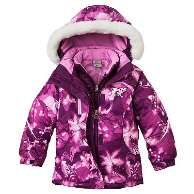 ZeroXposur Floral Systems Jacket - Girls 4-7
