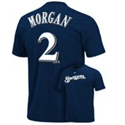Majestic Milwaukee Brewers Nyjer Morgan Tee - Boys 8-20