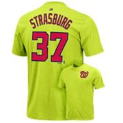 Majestic Washington Nationals Stephen Strasburg Tee - Boys 8-20