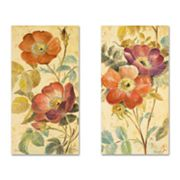 2-pc. Fleur In Fleur Floral Wall Art Set