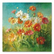 Painted Daisies Floral Wall Art