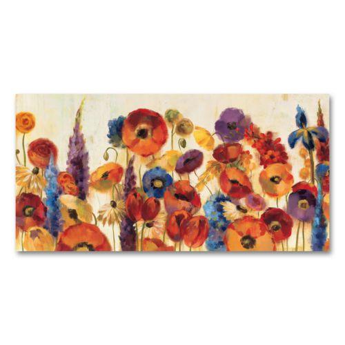 Joyful Garden Floral Wall Art
