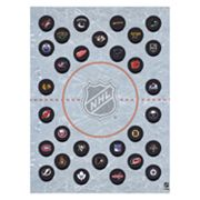 NHL Hockey Puck Wall Art