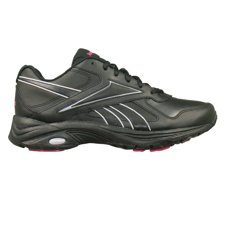 Reebok Black DMX Max Mania Wide Walking Shoes - Women