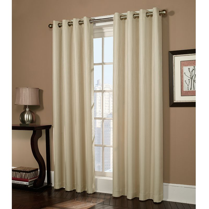 Striped Curtains Window Treatment