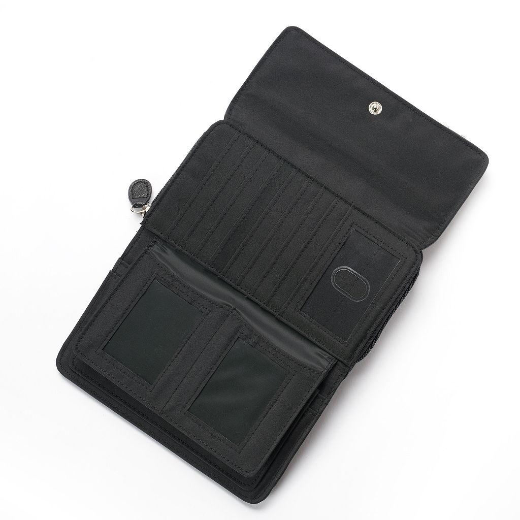 Croft & Barrow® Signature Clutch Organizer Wallet