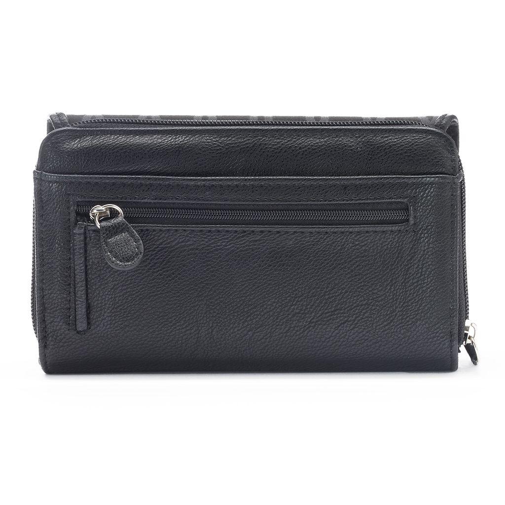 Croft & Barrow® Signature Clutch Organizer Wallet