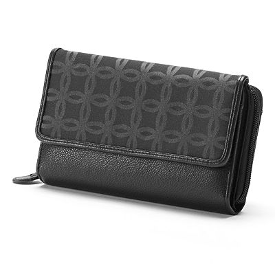 Croft and Barrow Signature Clutch Organizer Wallet