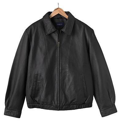 Croft and Barrow Leather Jacket - Men
