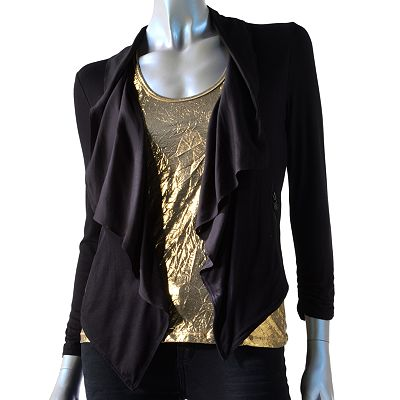 Rock and Republic Open-Front Jacket