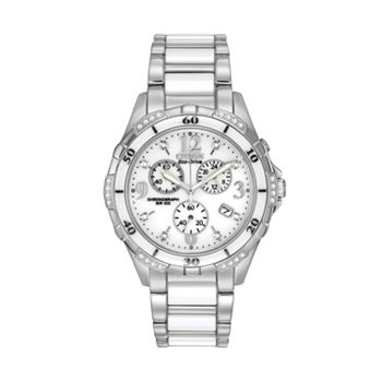 Citizen Eco-Drive Women's Diamond Stainless Steel