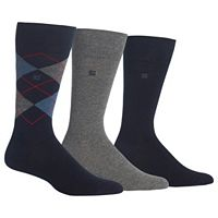 Men's Chaps 3 pkArgyle Dress-Casual Socks