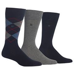 Men's Chaps 3-pk. Argyle Dress-Casual Socks