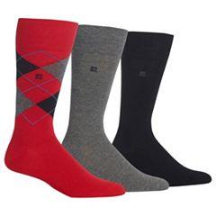 Men's Chaps 3 pkArgyle Dress-Casual Socks