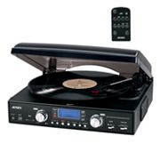 Jensen Radio and Turntable Recording System