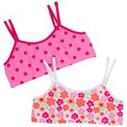Jockey 2-pk. Heart Convertible Crop Bras - Girls'