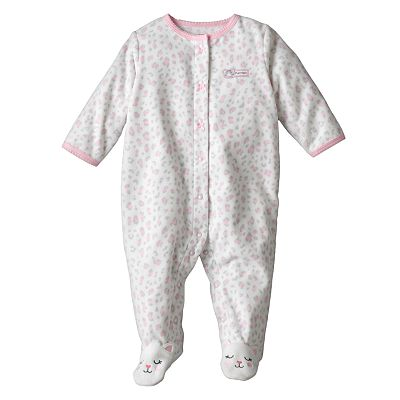 Carter's Cheetah Microfleece Sleep and Play - Baby