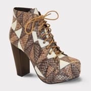Bucco Patches Booties - Women