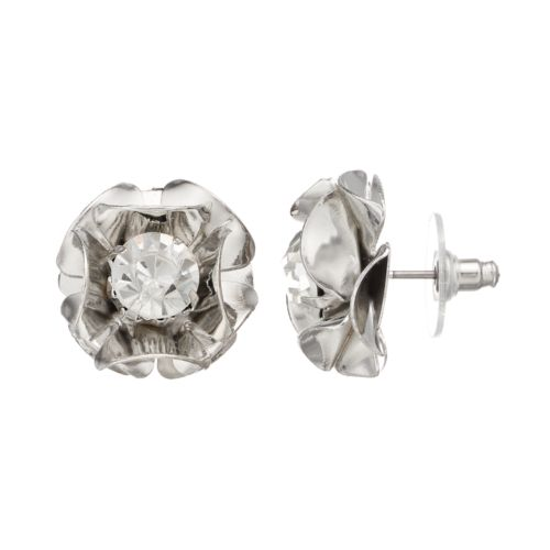 Simply Vera Vera Wang Flower Stud Earrings