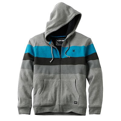 Zoo York Paratransit Sherpa Striped Hoodie - Men