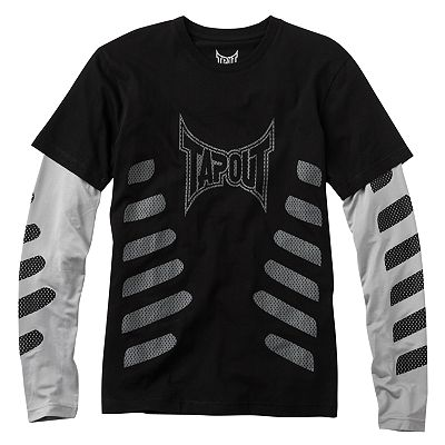 TapouT Definitive Training Slider Mock-Layer Tee