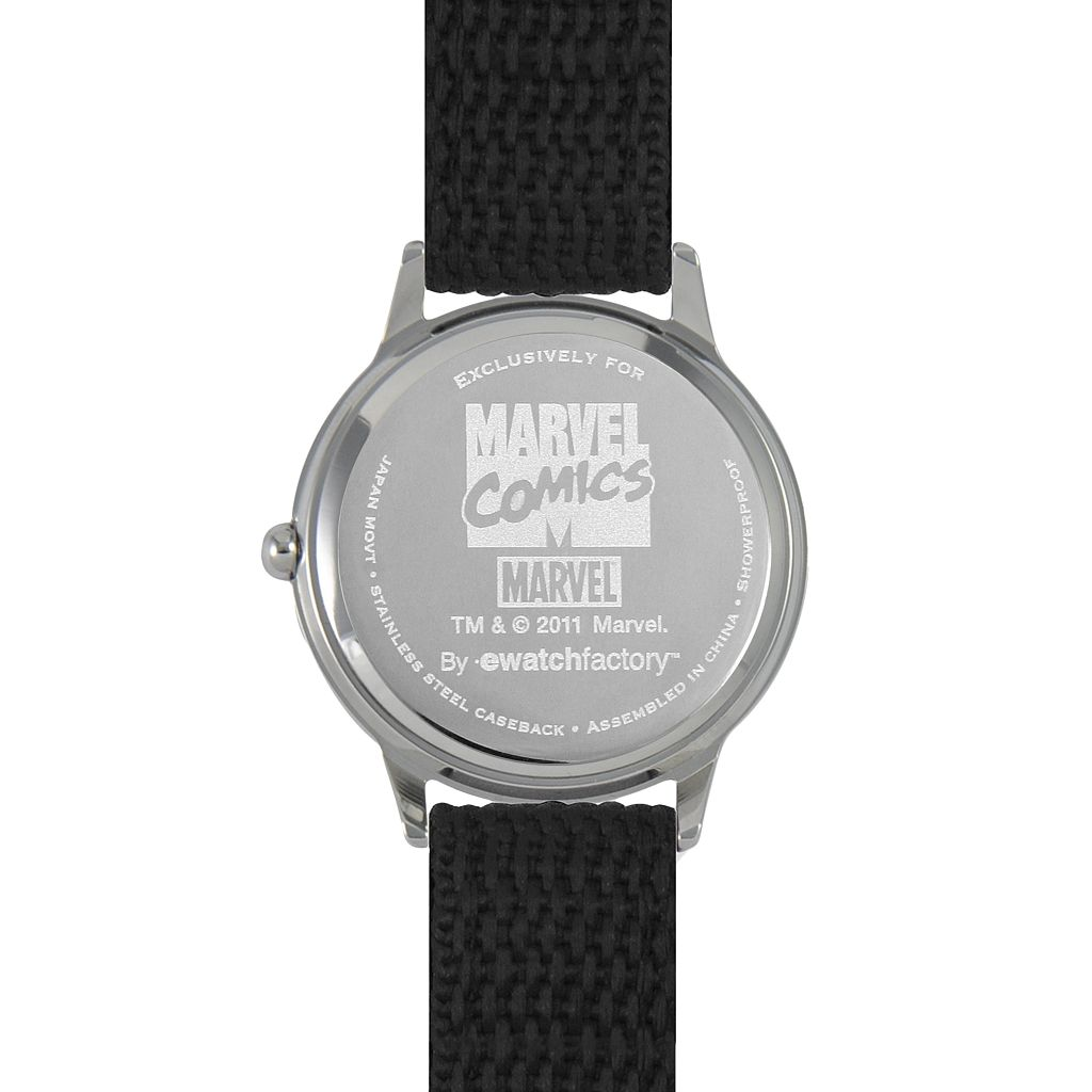 Marvel Captain America Time Teacher Stainless Steel Watch
