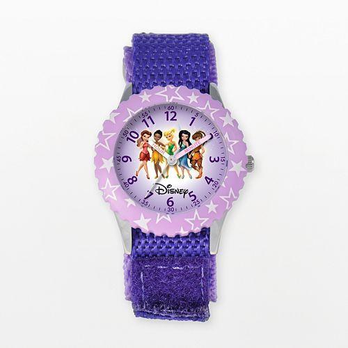Disney Fairies Kids' Time Teacher Watch
