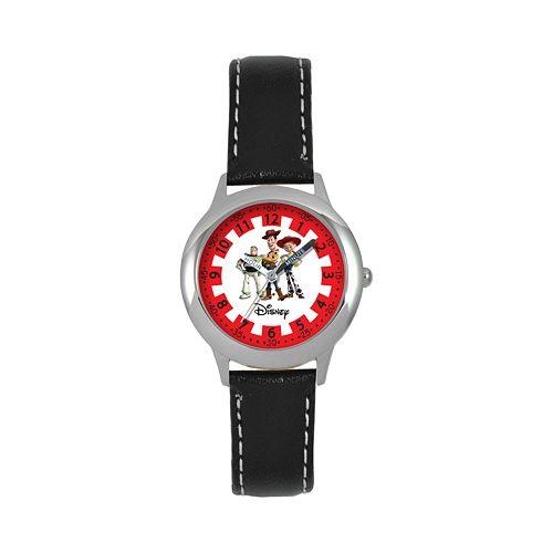 Disney / Pixar Toy Story Sheriff Woody, Buzz Lightyear & Jessie Kids' Time Teacher Watch