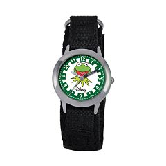 Disney's The Muppets Kermit the Frog KIds' Time Teacher Watch
