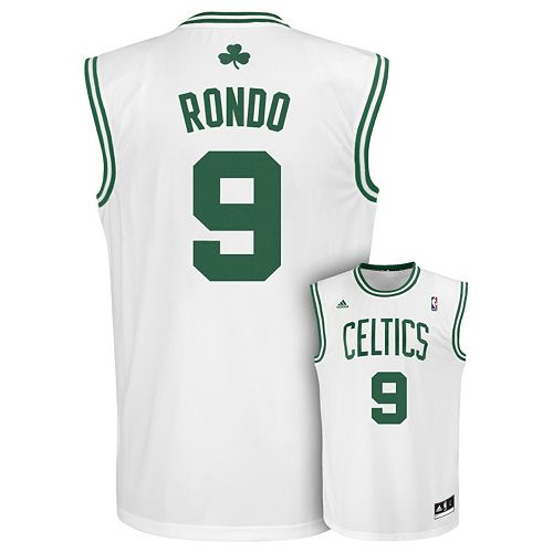 promo code 05f71 ed85a adidas Boston Celtics Rajon Rondo Jersey