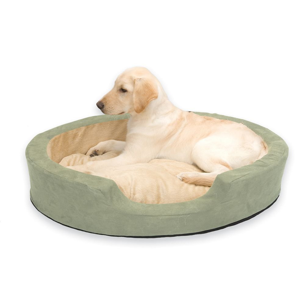 K&H Pet Thermo-Snuggly Sleeper Oval Pet Bed - 31'' x 24''