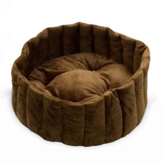 K and H Pet Kitty Kup Round Pet Bed - 20''