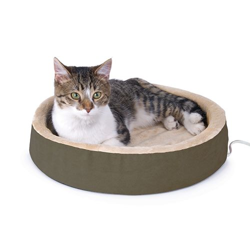 K And H Pet Thermo-Kitty Cuddle Up Heated Bed