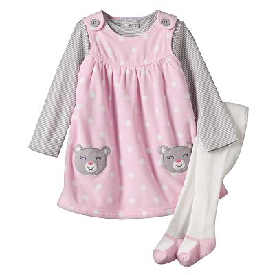 Carter's Dot Microfleece Jumper Set - Baby