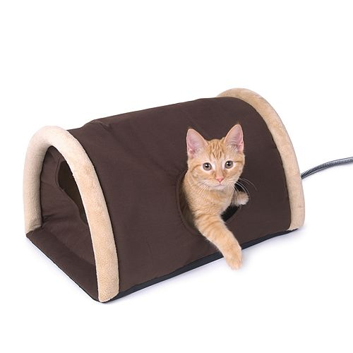 K And H Pet Outdoor Heated Kitty Camper