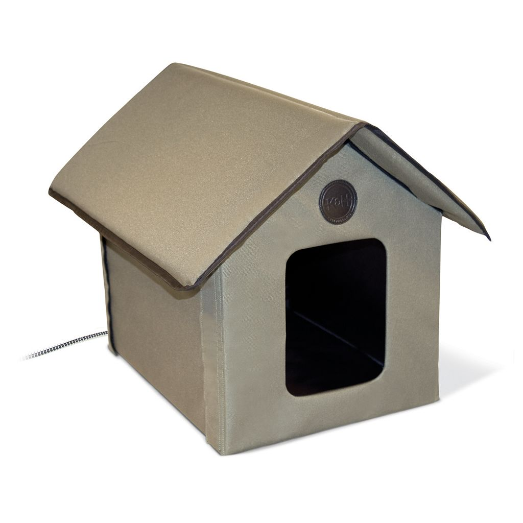 K&H Pet Outdoor Heated Kitty House
