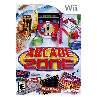 Arcade Zone for Nintendo Wii