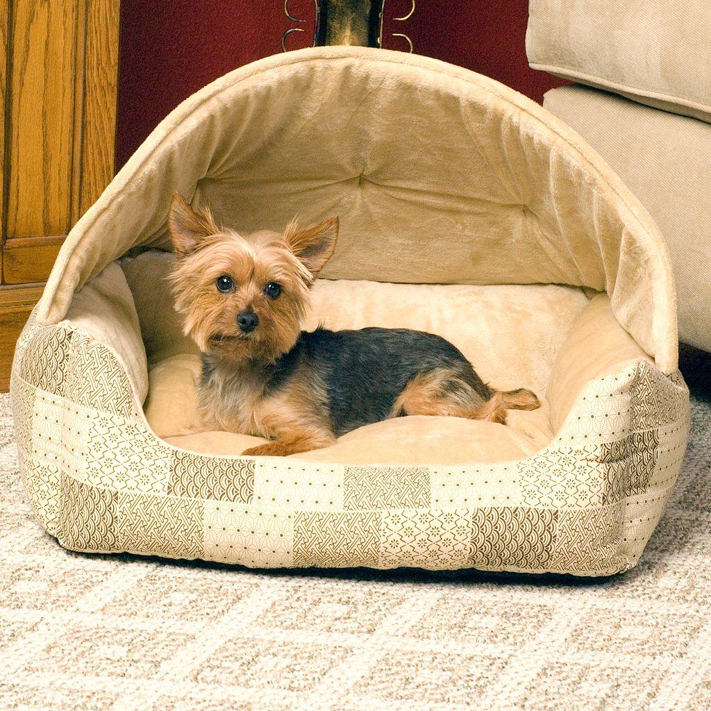 K&H Pet Hooded Lounge Sleeper