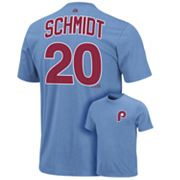 Majestic Philadelphia Phillies Mike Schmidt Cooperstown Collection Tee
