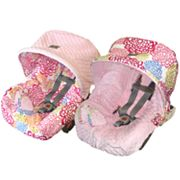 Itzy Ritzy Reversible Infant Car Seat Cover