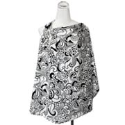Itzy Ritzy Licorice Swirl Nursing Cover