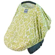 Itzy Ritzy Damask Peek-A-Boo Pod Car Seat Cover