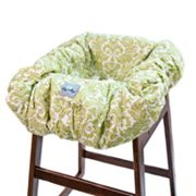 Itzy Ritzy Avocado Damask Shopping Cart and High Chair Cover