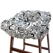 Itzy Ritzy Licorice Swirl Shopping Cart and High Chair Cover